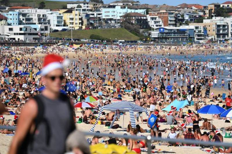 La temperatura media en todo el país fue de 40.9°C, batiendo el récord de 40.3°C del 7 de enero de 2013