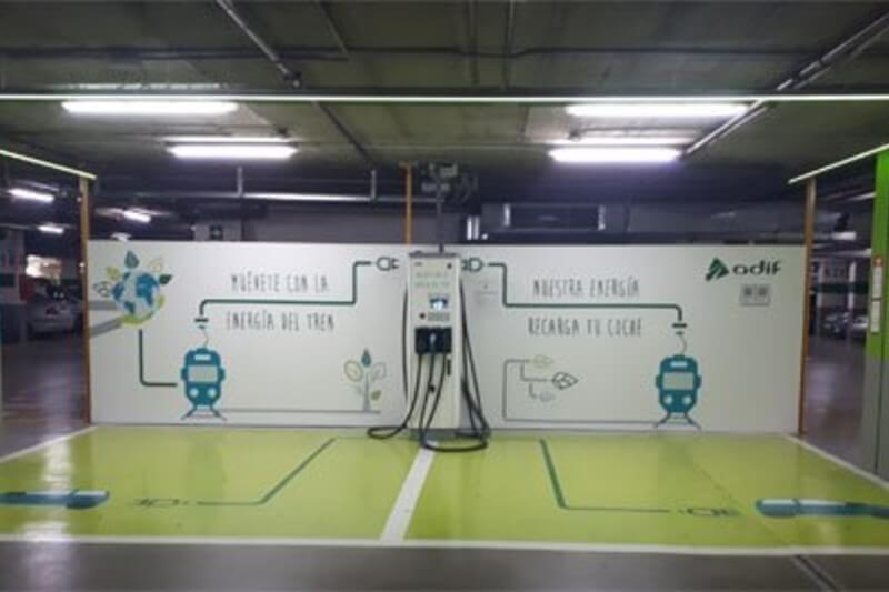 La energía es reutilizada para la recarga de coches eléctricos, que ha permitido ahorrar 5.8 toneladas de emisiones de CO2 en el último año.