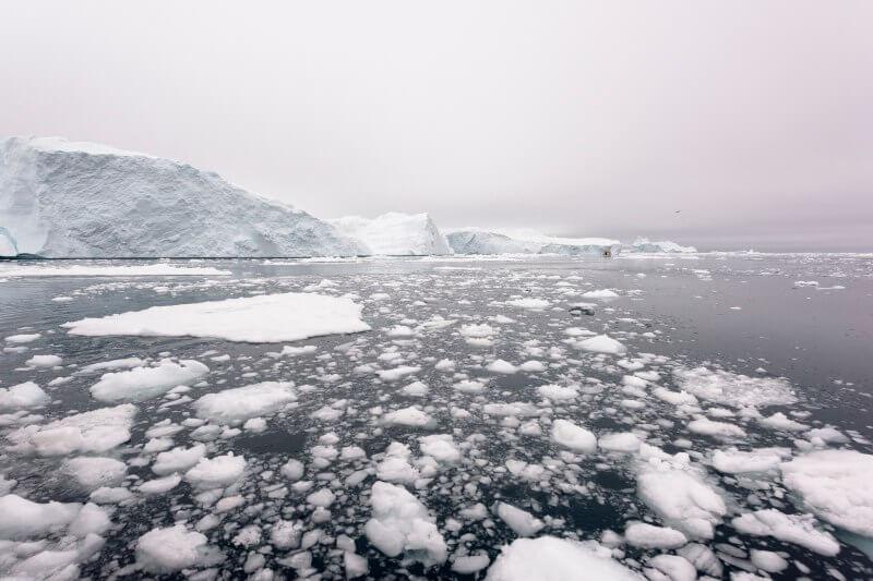 Desde la ciudad de Venecia que se hunde, hasta el fiordo deIlulissat Icefjord en Groenlandia se derriten aceleradamente.
