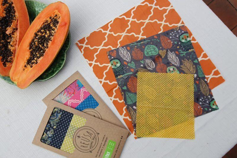 Este emprendimiento guatemalteco ofrece envoltorios de tela recubiertos de cera de abeja como una opción limpia con el medio ambiente, además de ser reusables.