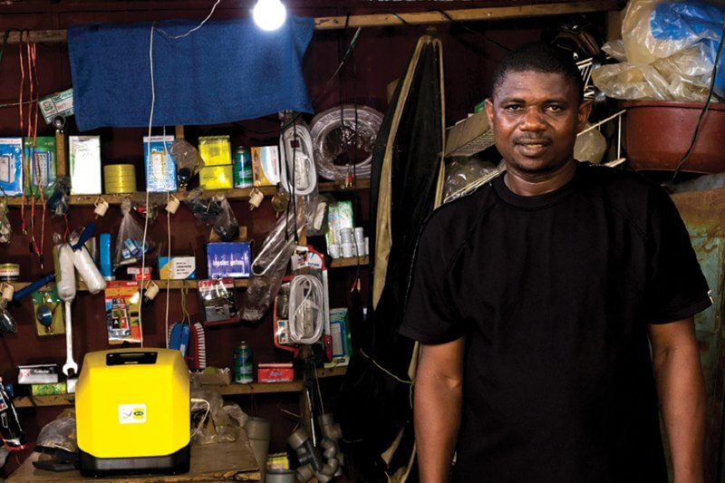 El gobierno nigeriano anunció que otorgó una parte de una subvención financiada por el Banco Mundial de $75 millones a la compañía Lumos.