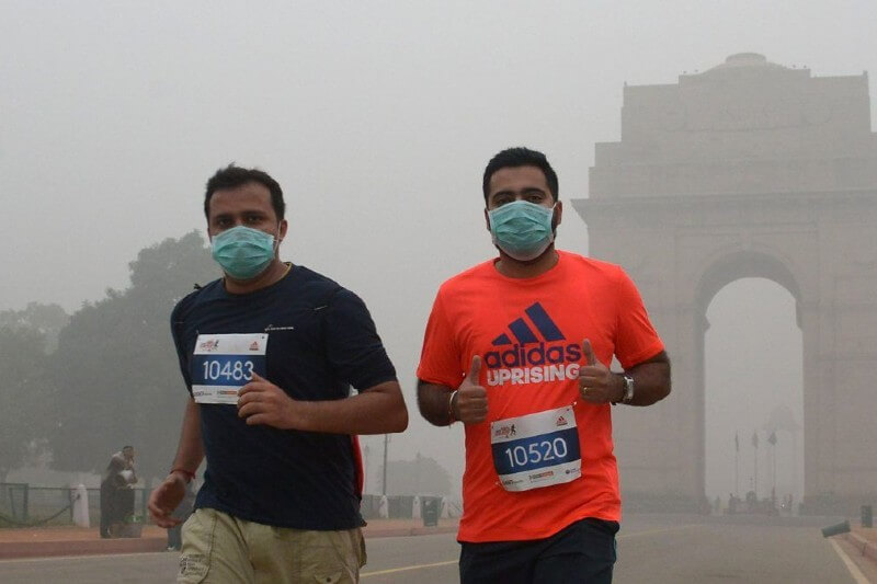 Coronavirus y crisis climática- Foto por Dominique Faget/AFP