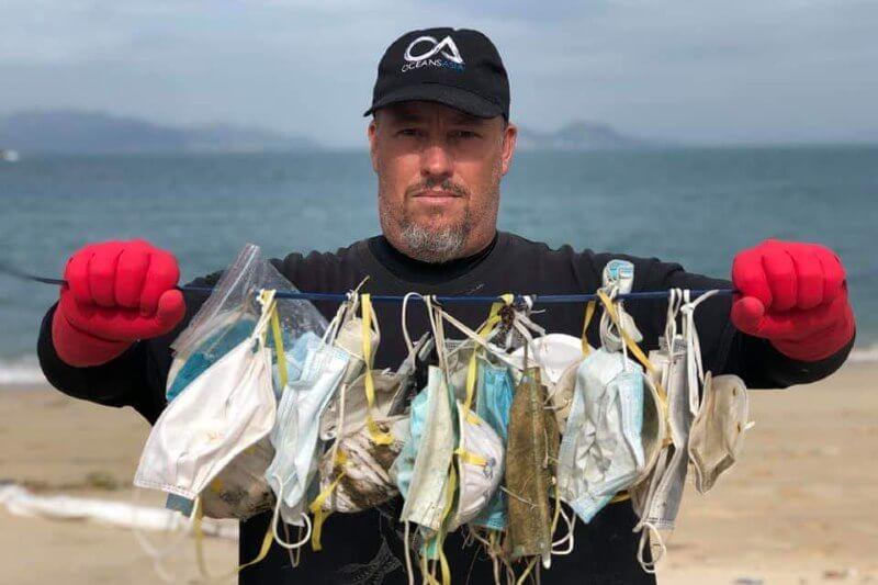 La mala gestión del material sanitario y de protección contra el coronavirus se suma a la contaminación de mares, océanos y zonas costeras.