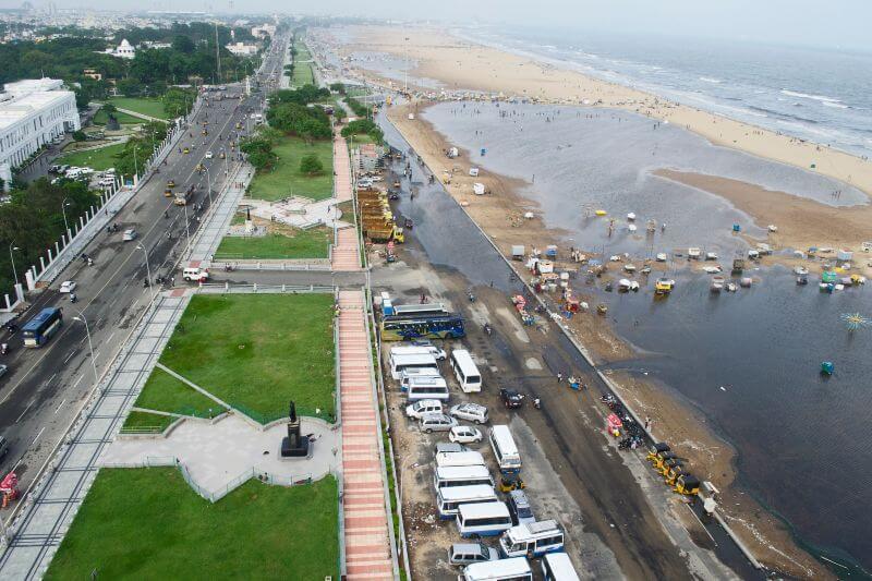 De seguir la tendencia, alrededor de la mitad de las playas del mundo experimentará una erosión mayor a 100 metros para finales del siglo.