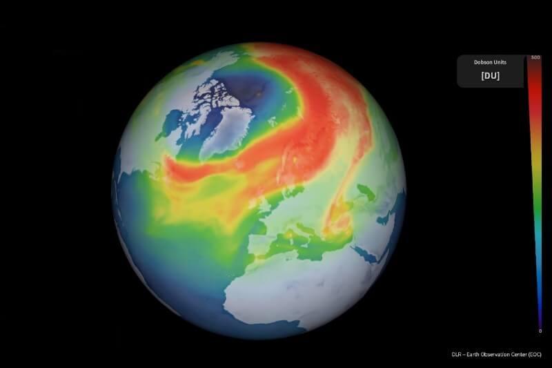 Hallan agujero en la capa de ozono en elÁrtico