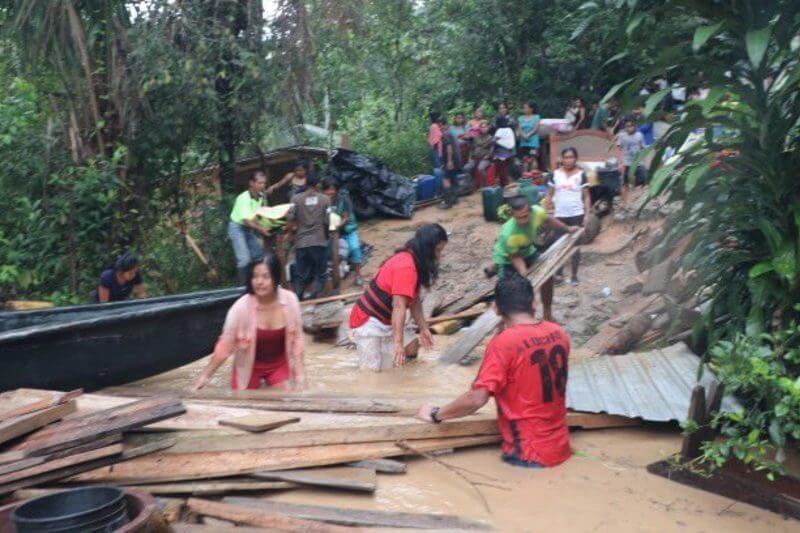Ecuador sufre desborde de ríos de la Amazonía