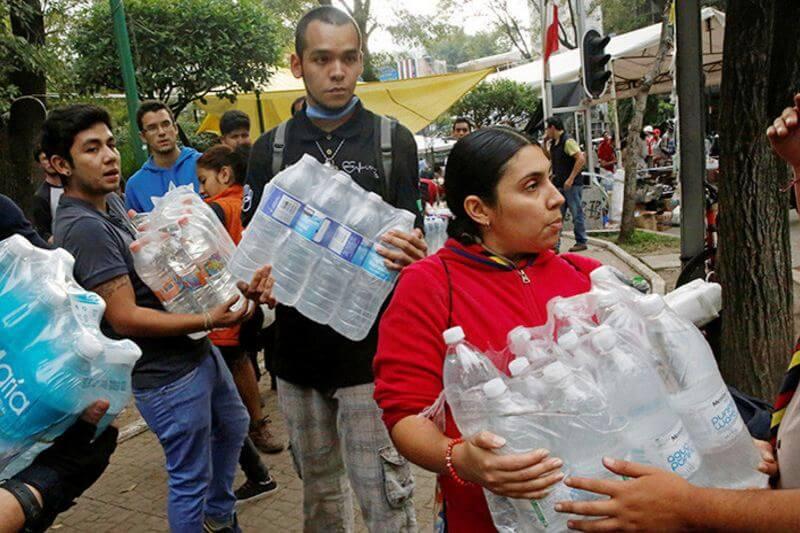 Escasez de agua en México