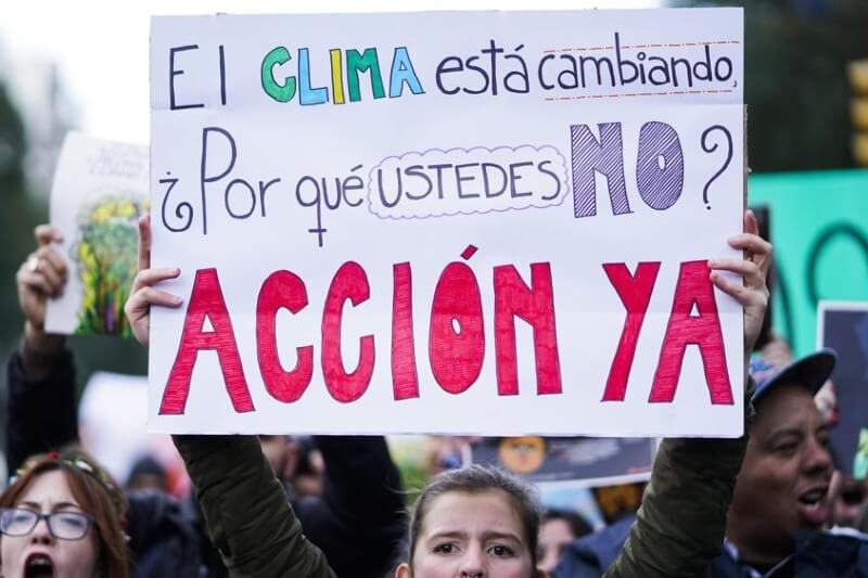 La gente quiere medidas más radicales a la crisis climática como las del coronavirus
