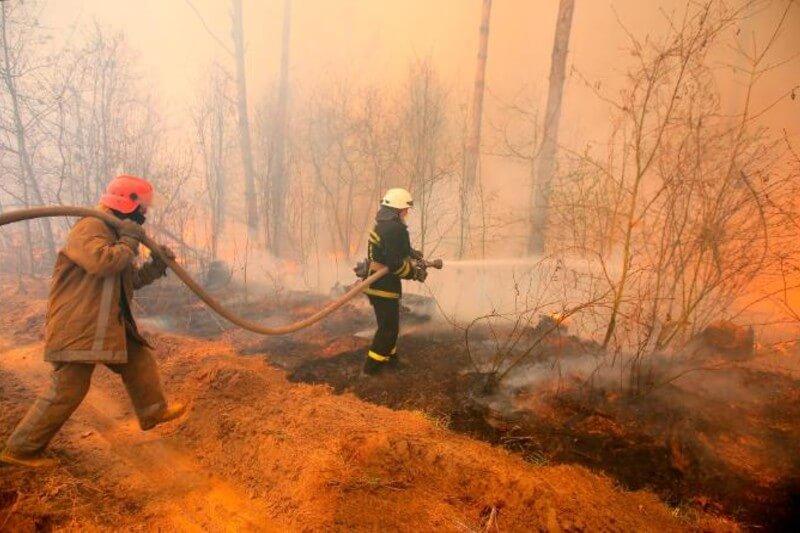 Incendio forestal en Chernobyl logra ser controlado