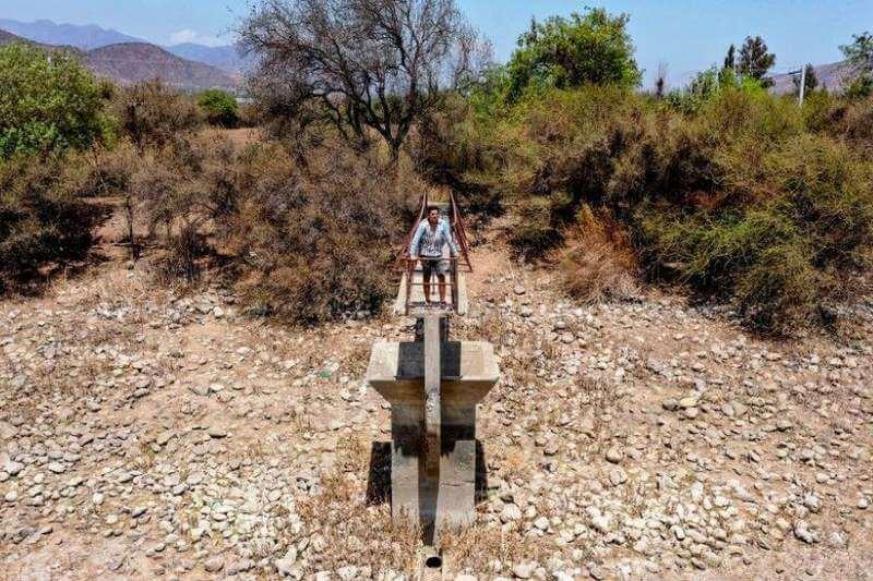 Chile sufre peor megasequía