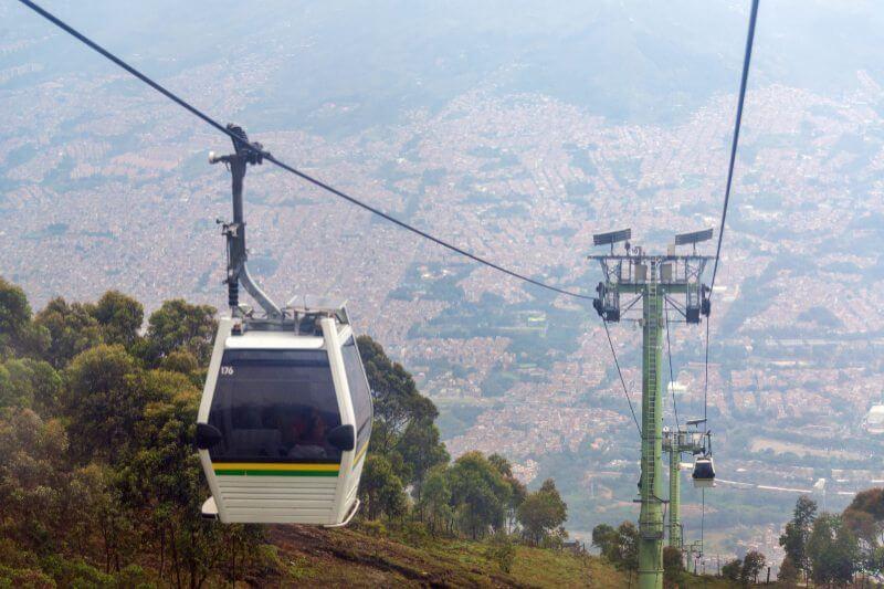 Colombia da el ejemplo del transporte sostenible