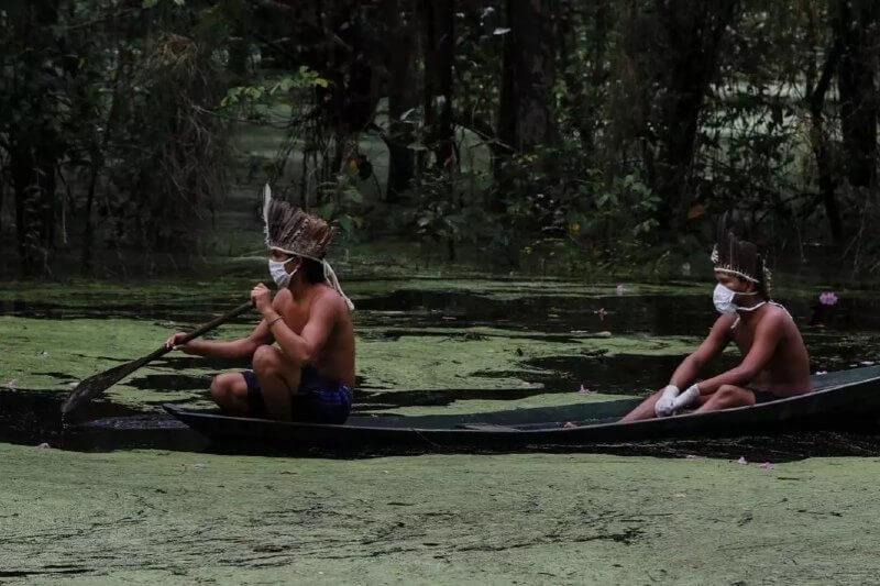 Comunidades de la Amazonía lidian con deforestación y coronavirus
