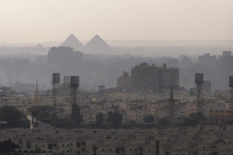 El Cairo busca mantener los niveles de contaminación del aire bajos