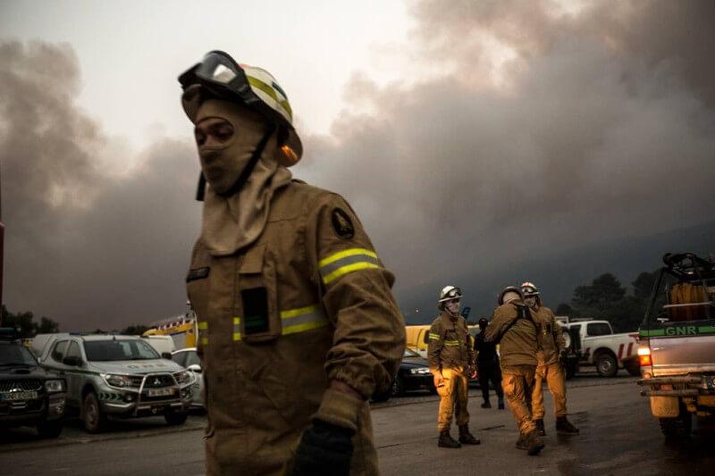 Portugal utilizará drones para combatir incendios durante la pandemia- Foto por AP