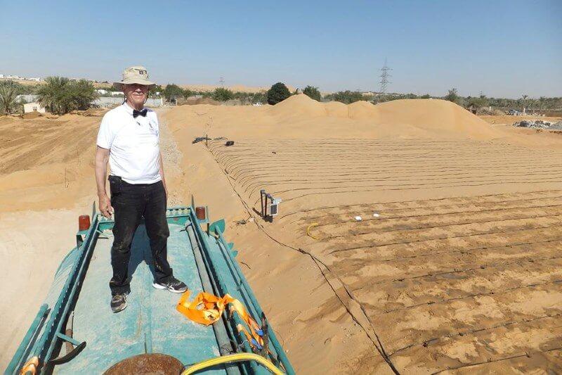 Invento convierte arena del desierto en tierra para sembrar