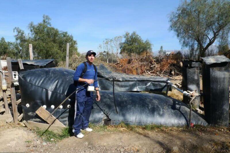 Invento costarricense descubre como producir biogás de excremento de animales