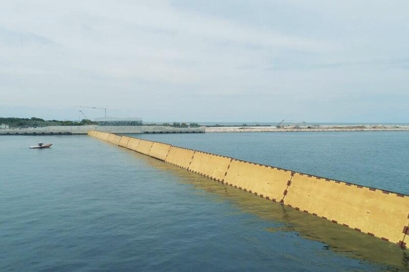Barrera contra inundaciones en Venecia