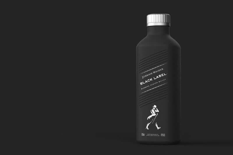 Lanzan la primera botella de whisky de papel