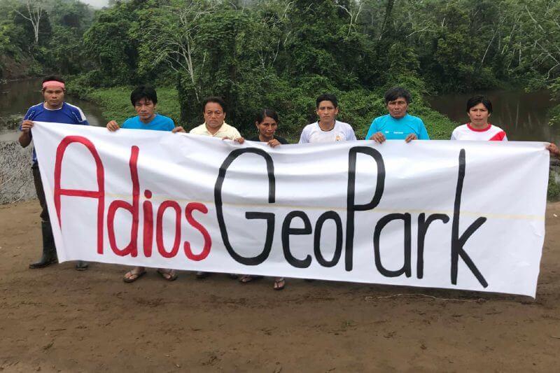 Comunidad indígena celebra renuncia de petrolera en Perú