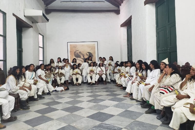 Comunidades indígenas en Colombia inician proceso para proteger territorio