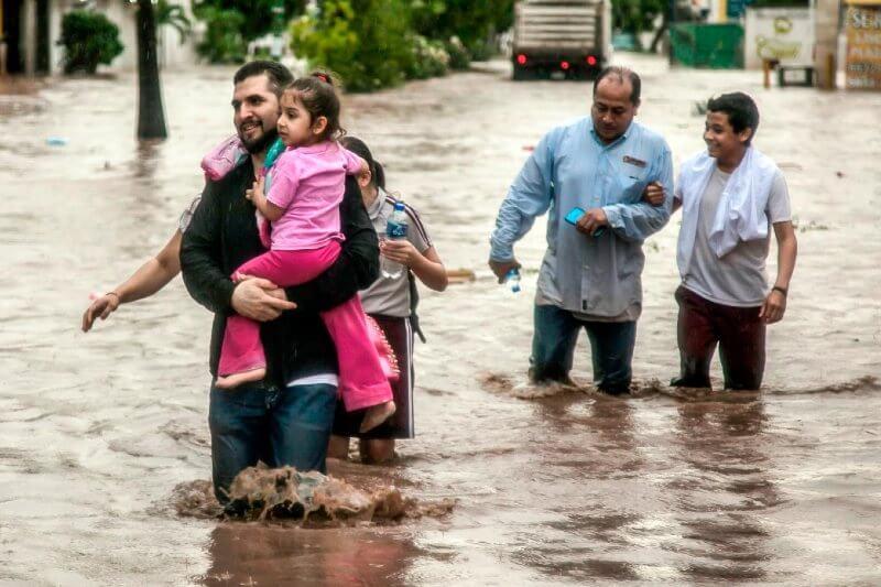 Hay más desplazamientos por el clima en México que por narcotráfico