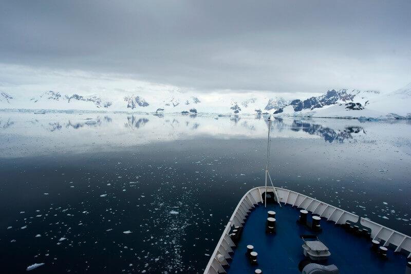 Emisiones de isopreno en el océano Antártico podría afectar el clima