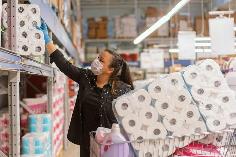 Más trabajo en casa más demanda de papel higiénico suave