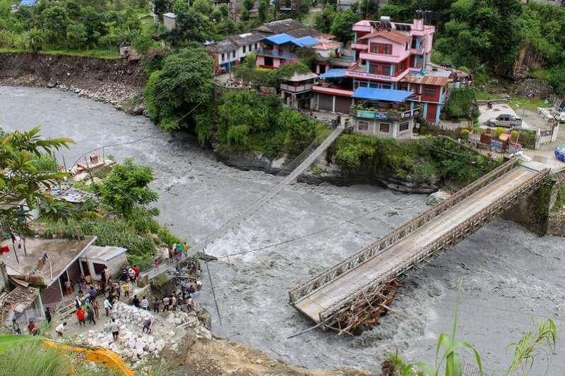Muertos en Nepal por intensas lluvias
