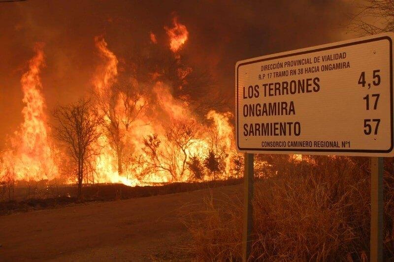 Argentina llega a 175 mil hectáreas quemadas