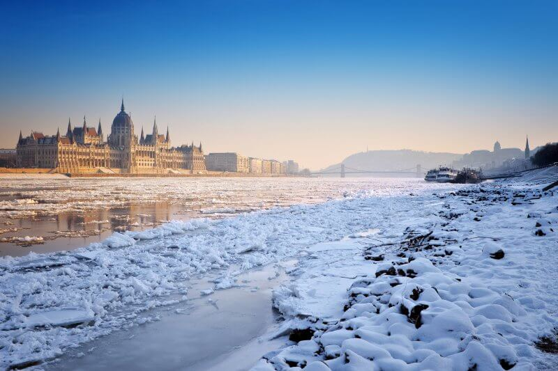Cambios en la capa de hielo en Hungría son una señal de alerta