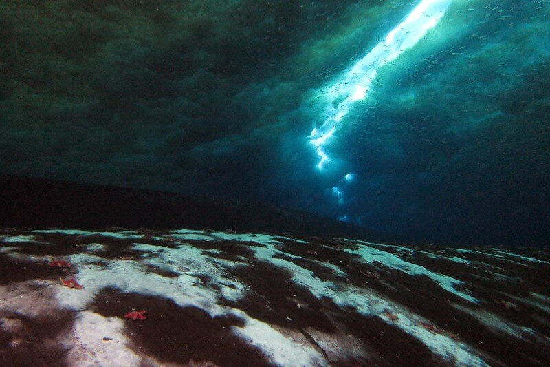 Fuga de metano en el fondo del océano Antártico
