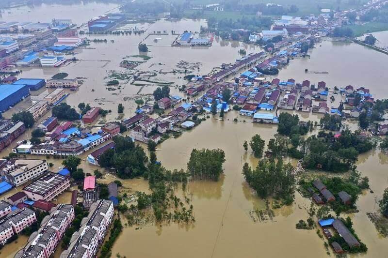 Inundaciones en China causan daños de $25 mil millones