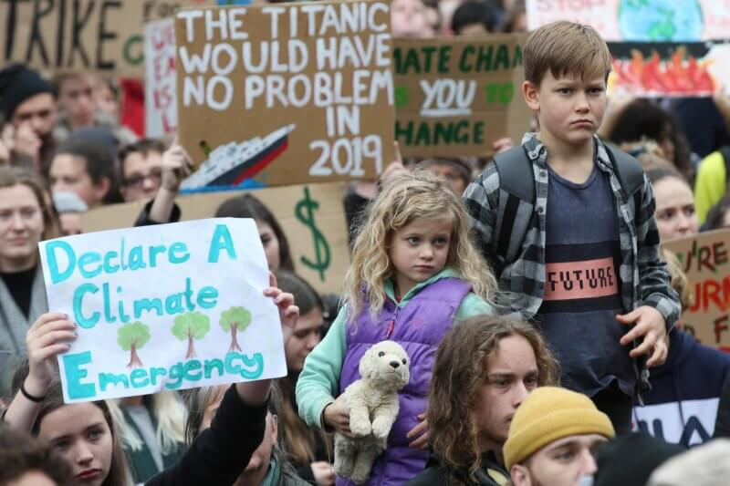 La crisis climática también afecta a los derechos de los niños