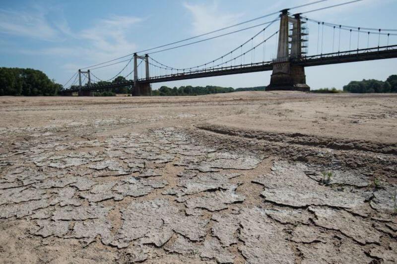 Francia enfrenta su peor sequía en 60 años