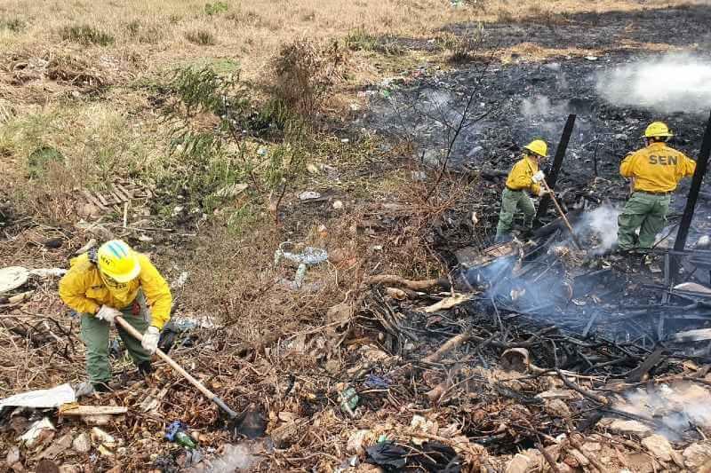 Incendios en Paraguay contaminan la capital