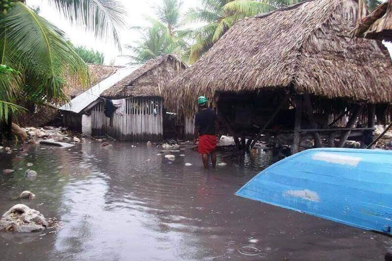 Kiribati planea elevar la isla para combatir la elevación del nivel del mar