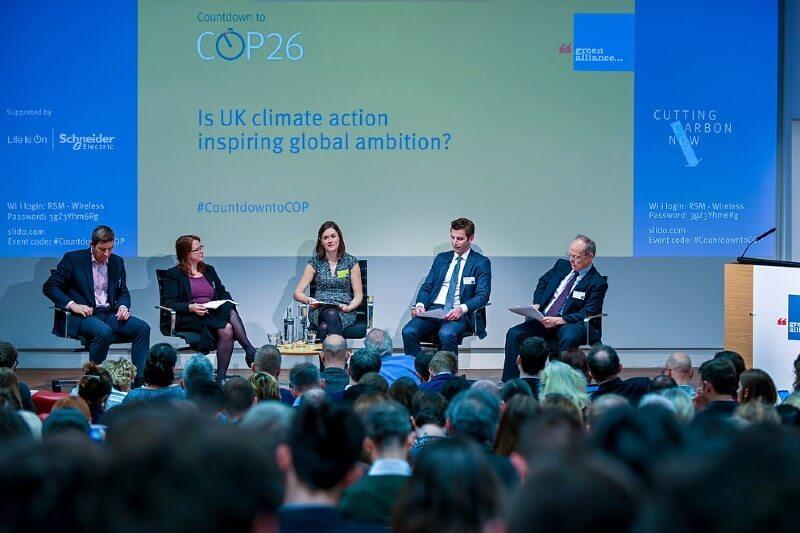 Más reuniones para apoyar la COP26