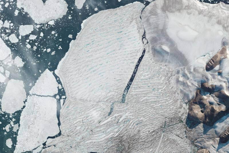 Canadá pierde su última plataforma de hielo intacta