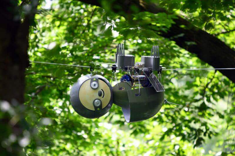Slothbot es el robot perezoso que monitera el clima