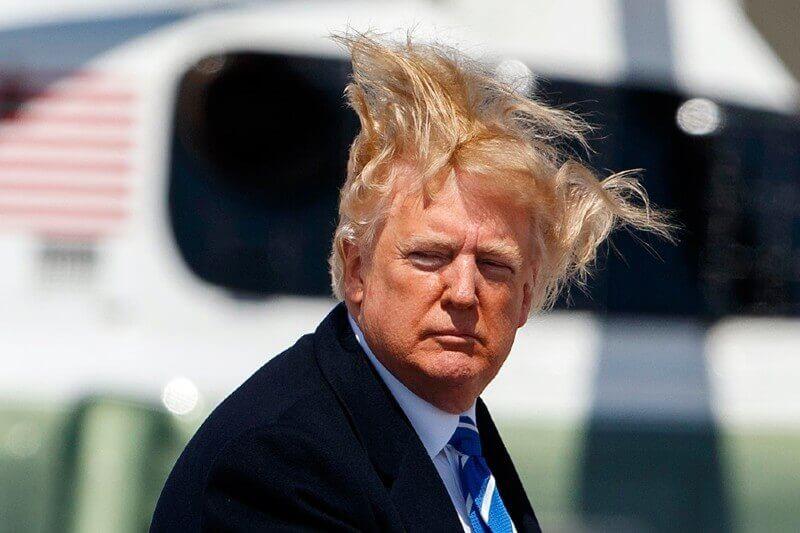 Trump pide cambiar cabezales de la ducha para que fluya más agua