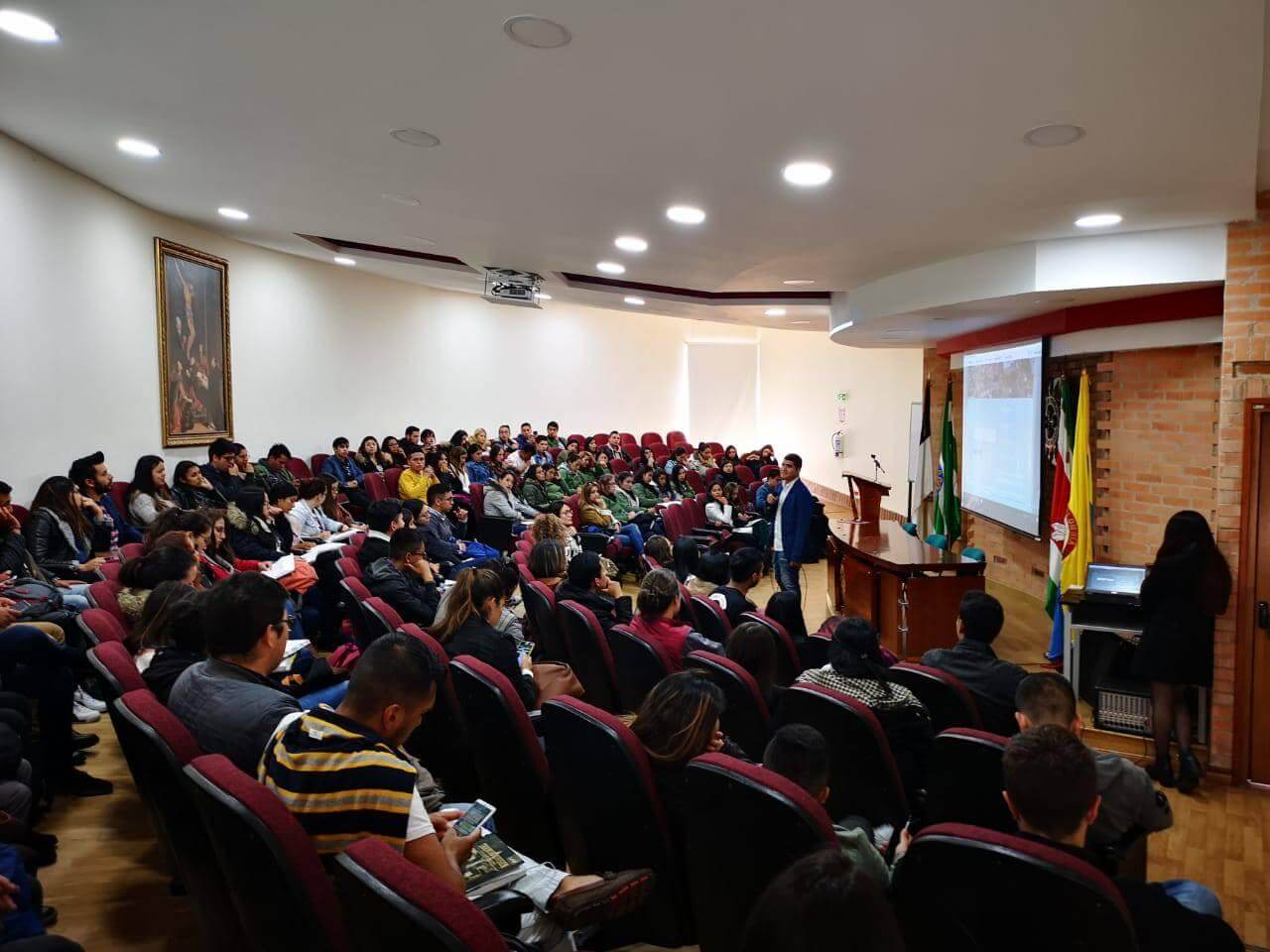 Agenda Ambiental apoyando en eventos - Foto por Agenda Ambiental Colombia