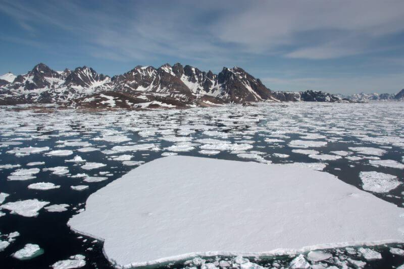 Groenlandia se derrite seis piscinas olímpicas por segundo