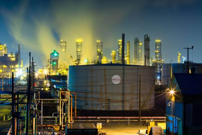 Fuga de metano en fábrica de gas en Los Ángeles