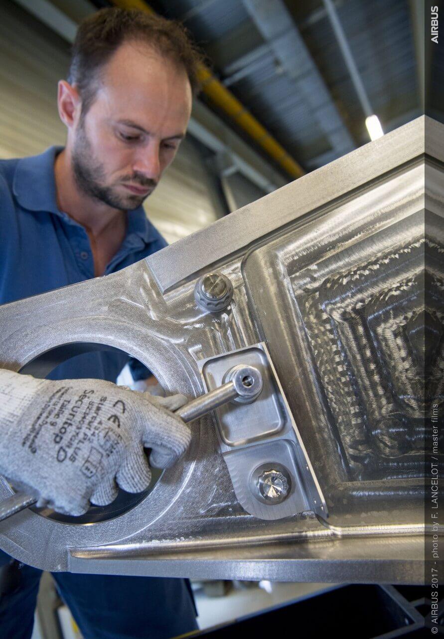 Impresión 3D en Airbus - Foto por Airbus