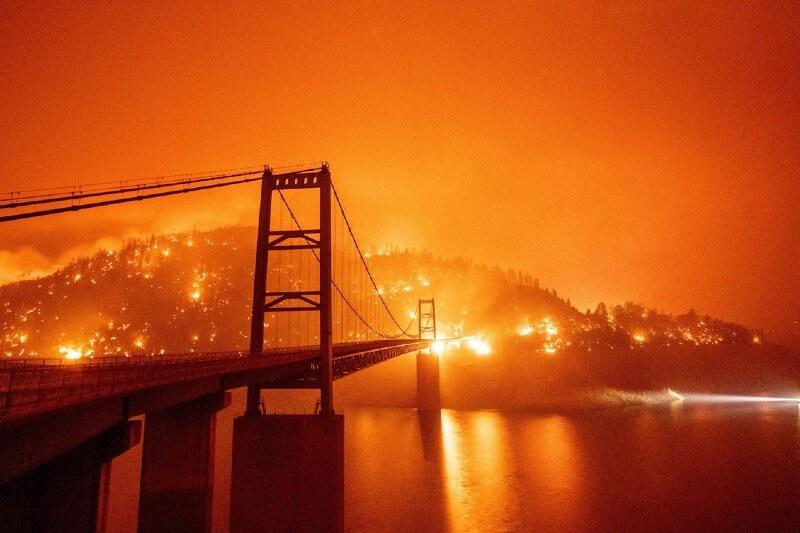 Incendios forestales en California demuestran la nueva normalidad del cambio climático