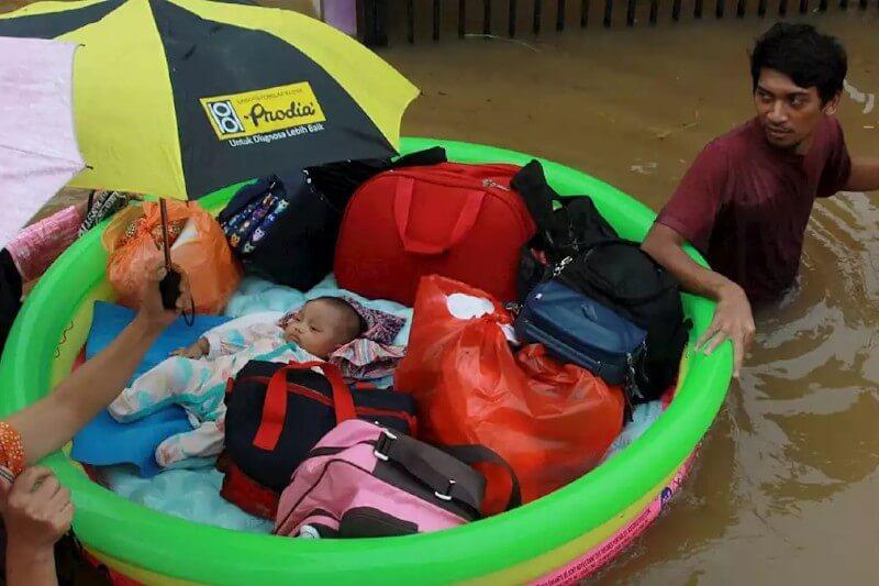 Educación para desastres naturales en Indonesia