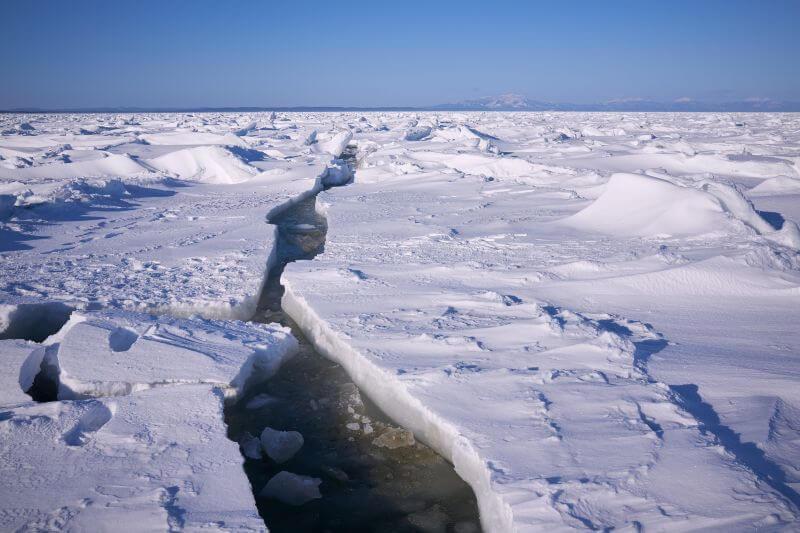 Plataformas de hielo son vulnerables al deshielo