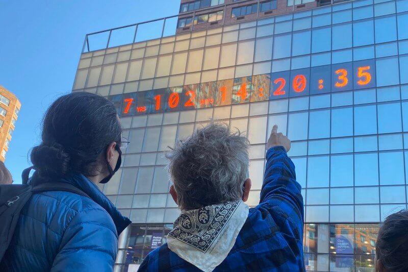 Reloj climático que indica cuánto tiempo nos queda para salvar el mundo