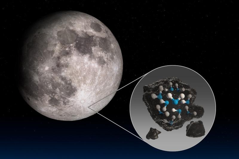 NASA descubre agua en la luna