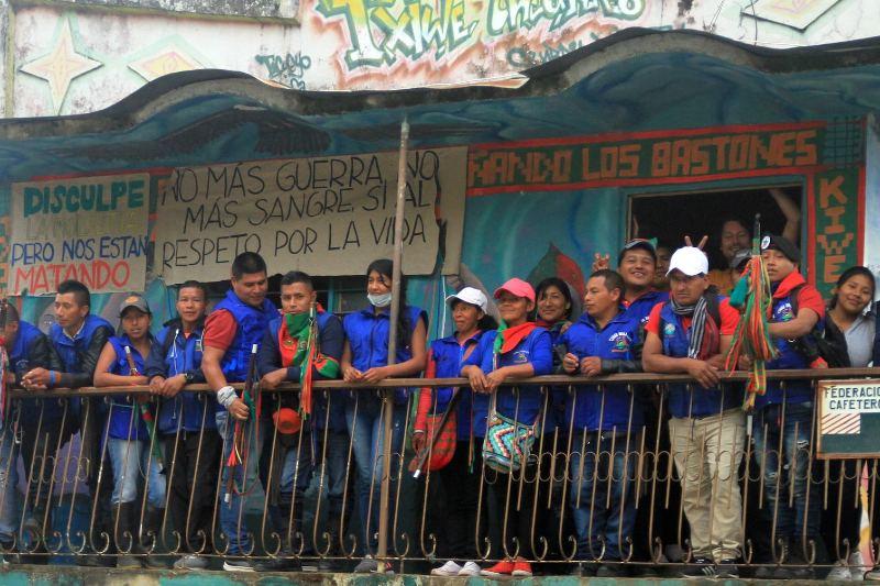 Premian organización colombiana defensora de territorios indígenas